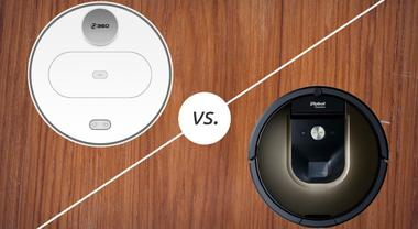Is the 360 S6 Robot Vacuum Better Than the Roomba 980? Model Comparison Chart