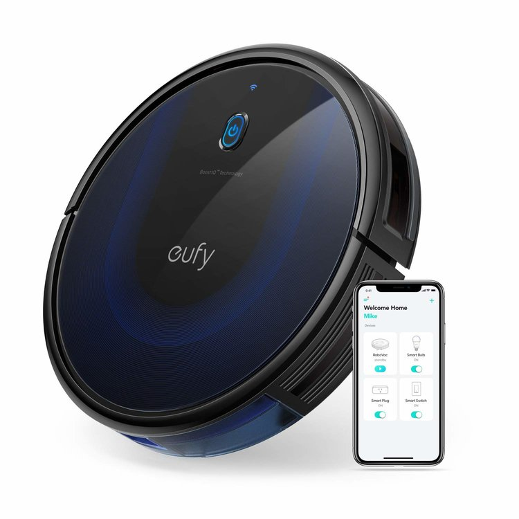 Eufy RoboVac 15C MAX the most powerful robot vacuum cleaner with random navigation