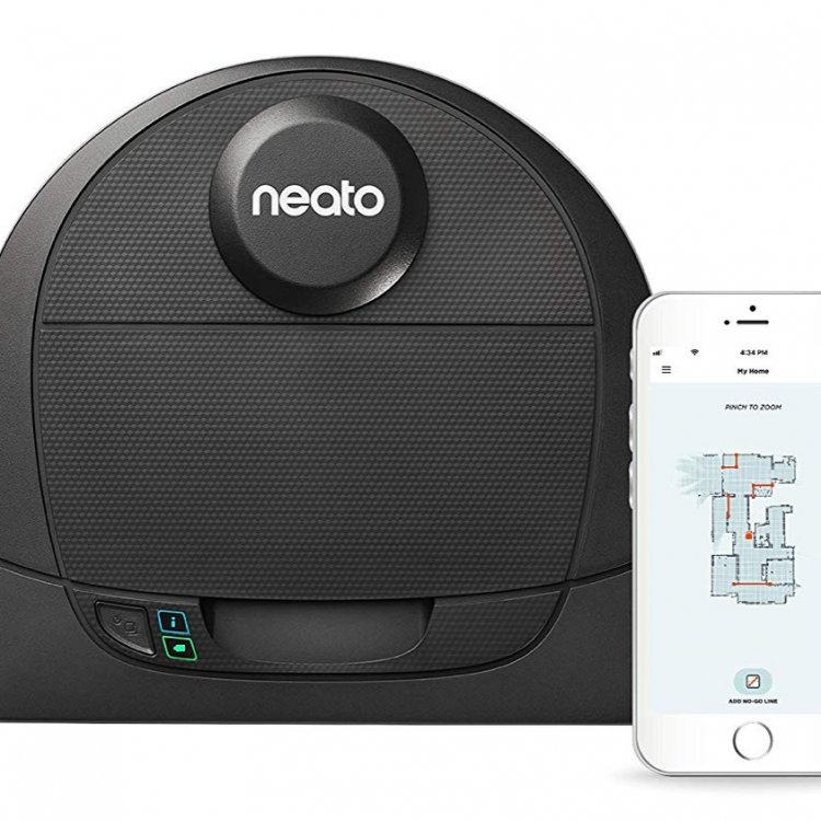 Neato Botvac D4 Connected a mid-range robot vacuum for pet hair, carpets and small homes