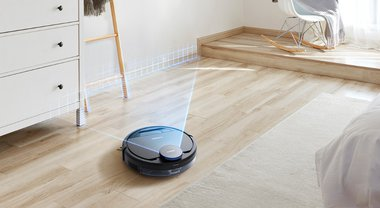 ECOVACS DEEBOT Ozmo 960 the Robot Vacuum with AI That Can Recognize and Avoid Stuff on Your Floor