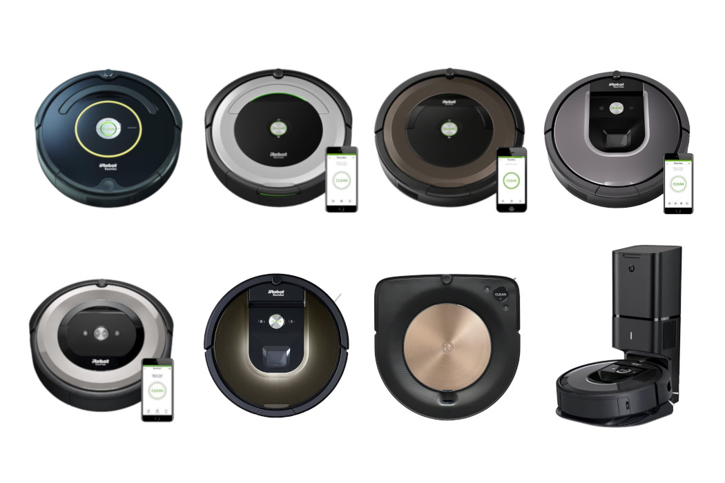 Surprising Irobot Roomba Comparison Chart And Differences Between All Interior Design Ideas Oxytryabchikinfo