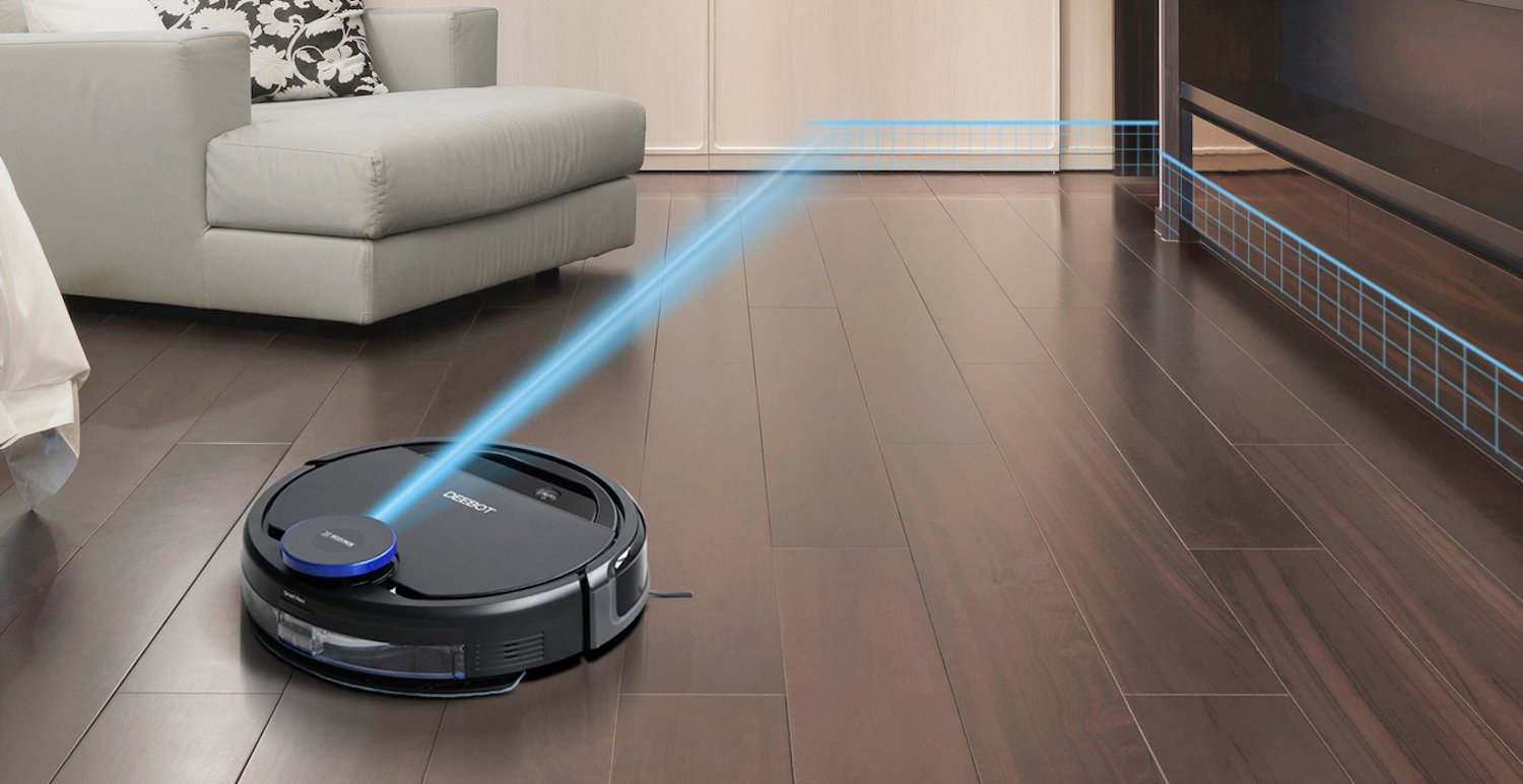 The Ecovacs Deebot Robot Vacuums With Mapping And Path