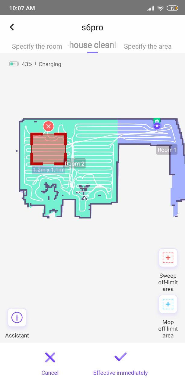 360 S6 Pro zones restreintes