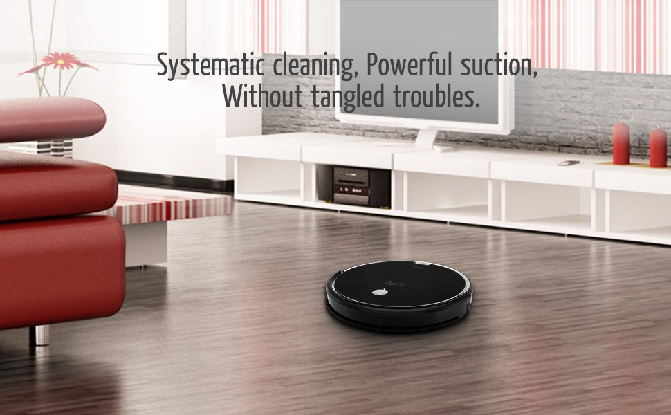 Ilife-A6 systematic cleaning powerful suction without tangled troubles