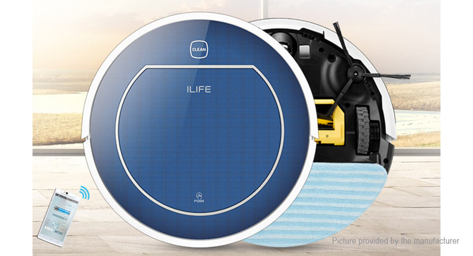 the best budget robot vacuum is on sale less than $200 - Chuwi ILIFE V7