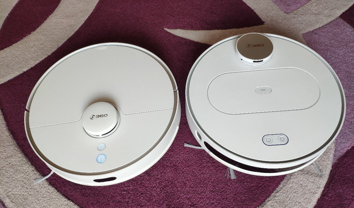 360 S5 and 360 S6 robot vacuum cleaners