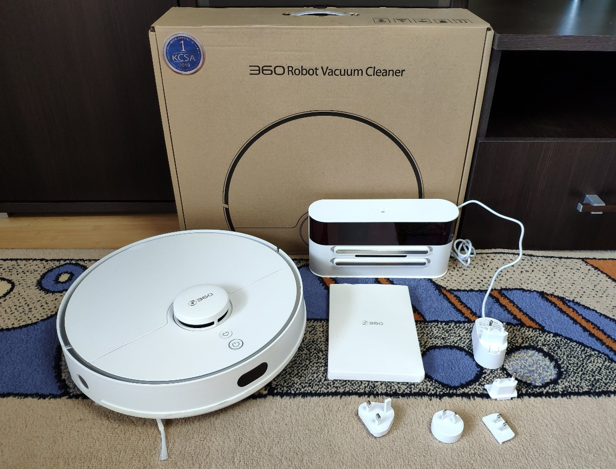 360 S5 robot vacuum cleaner review