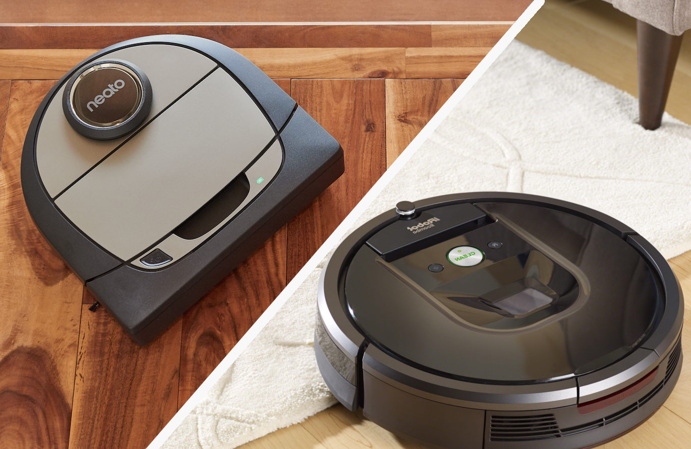 Neato Vs Roomba What Is The Best Robot Vacuum To Buy In