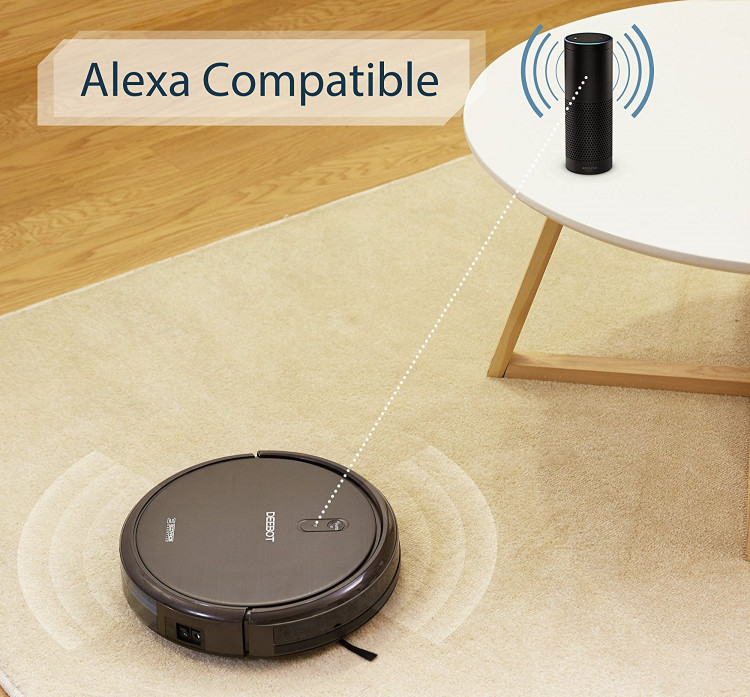 ecovacs deebot n79s works with alexa