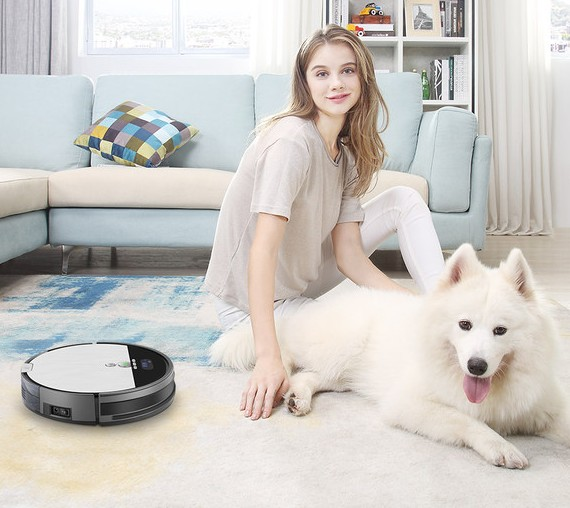 the newest iLIFE V8S is designed for clean pet hair