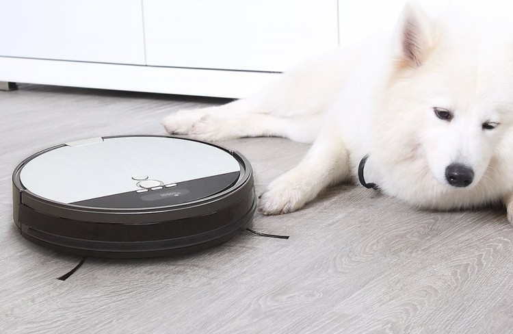 iLIFE V8S a budget robot vacuum cleaner for pet hair that mop and sweep