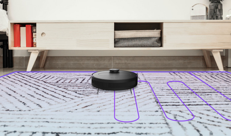 360 S6 robotic vacuum path planning