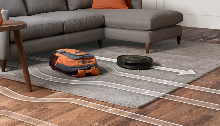 Roomba 980 route planning