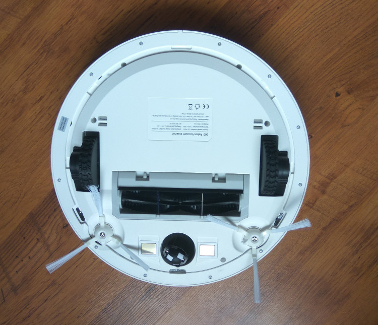 360 S6 robot vacuum bottom view