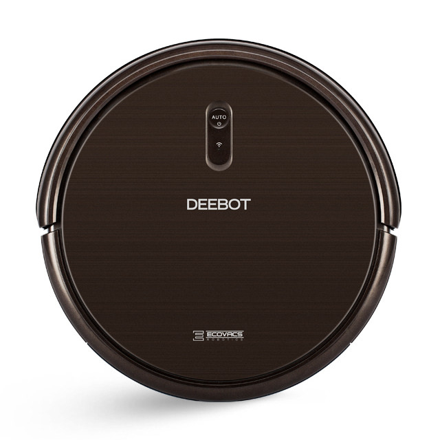 ECOVACS Deebot N79S affordable robot cleaner that is compatible with Amazon Alexa and Google Home