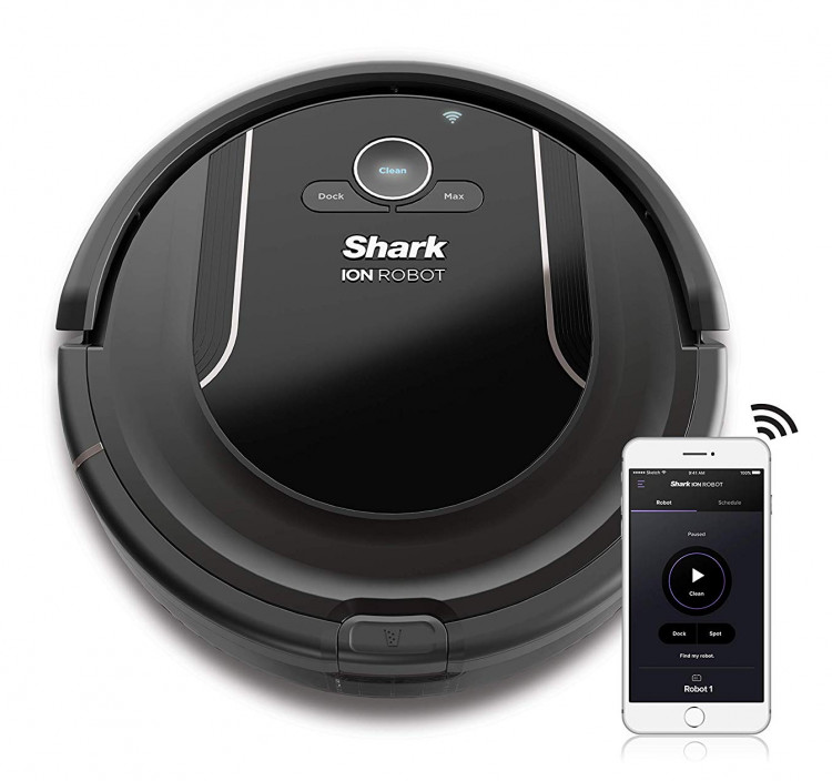 SHARK ION R85 is a decent robot vacuum cleaner to buy 2018 2019 instead of the Roomba 690