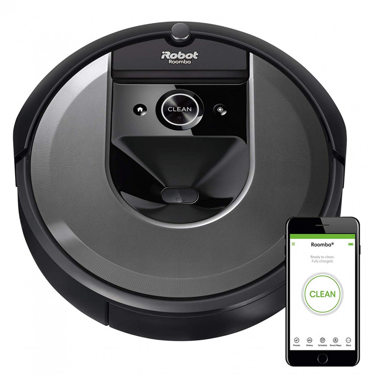 Roomba i7 the flagship robot cleaner from iRobot the Neato D6 Connected competitor