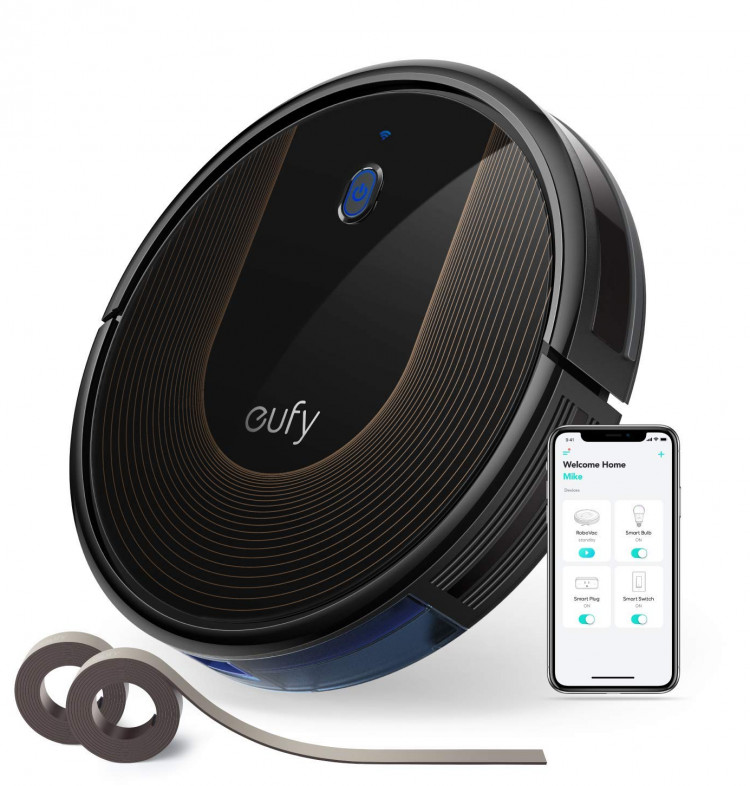 The Eufy RoboVac 30c flagship robot cleaner with wi-fi support, Alexa compatible and strong suction