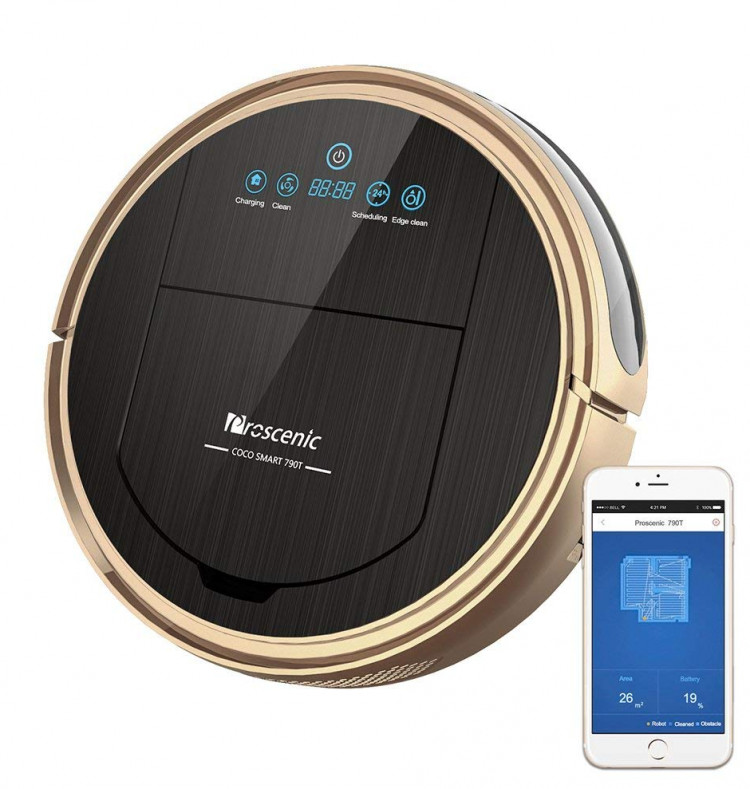 Proscenic 790t the $250 robot vacuum cleaner worth buying in 2019