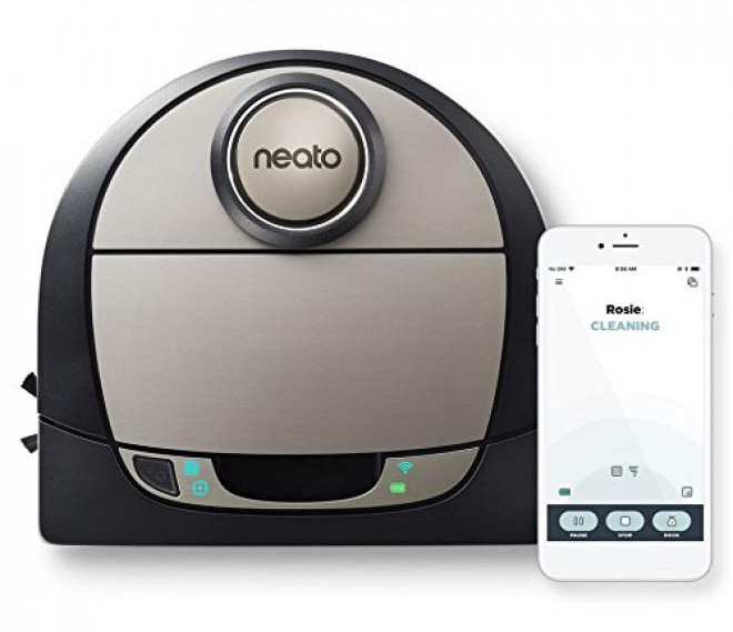 Neato Botvac D7 Connected the robot vacuum cleaner to wish for