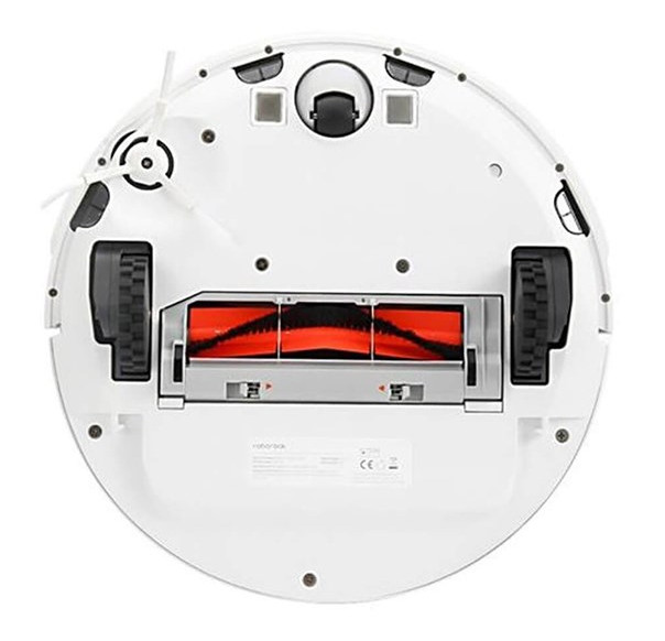 Roborock robot vacuum cleaners underneath