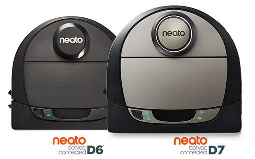 Neato Botvac D6 Connected vs Neato Botvac D7 Connected